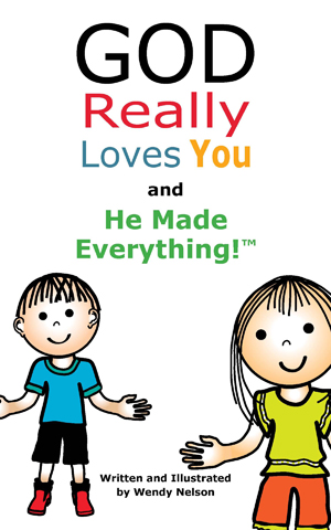 God Really Loves You Book Series